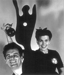 Portrait of Charles and Ray Eames