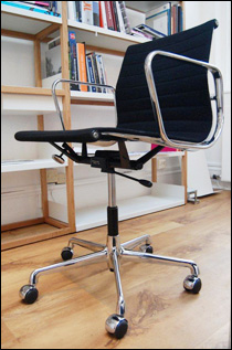 Herman Miller aluminium chair made by Vitra